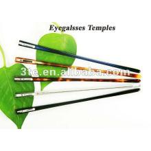 Novos Templos de Estilo Óptico para Peças de Armação