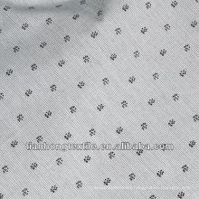 Jacquard Printing Dress Shirt Twill Cotton Printed Fabric