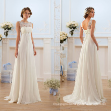 Französisch Spitze Chiffon Bohemian Wedding Dress