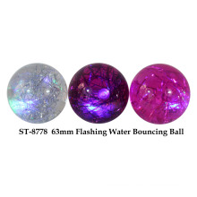 63mm Flashing Water Bounce Ball