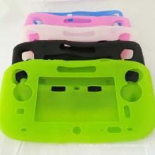 Funda protectora de silicona suave Protector de carcasa de piel para Nintendo Nintendo Wii U Controles de consola de Gamepad Gadgets