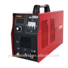 DC inversor tig soldagem máquina TIG250S