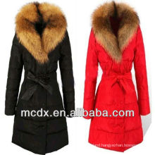 high quality latest thermal down feather winter wear ladies jacket