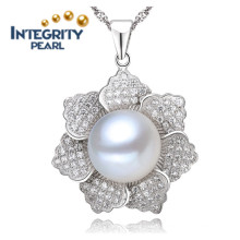 Freshwater Pearl Pendant Design AAA 9-10mm Pearl Pendant