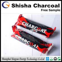 Diâmetro 33mm de carvão natural de narguilé de madeira para Shisha
