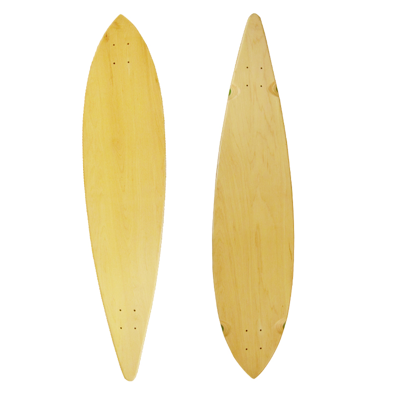 Skating Long Board Complete Maple Skateboard