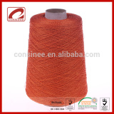 Top Line stock colorful linen viscose blended yarn for knitting