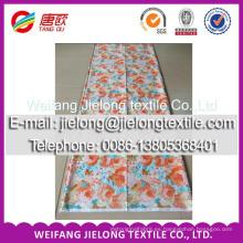 Tela de algodón estampada transferida térmicamente para ropa de cama en weifang