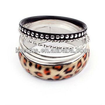 Brazaletes del encanto de los brazaletes de las pulseras de la aleación de la manera pulsera 2014 de la manera