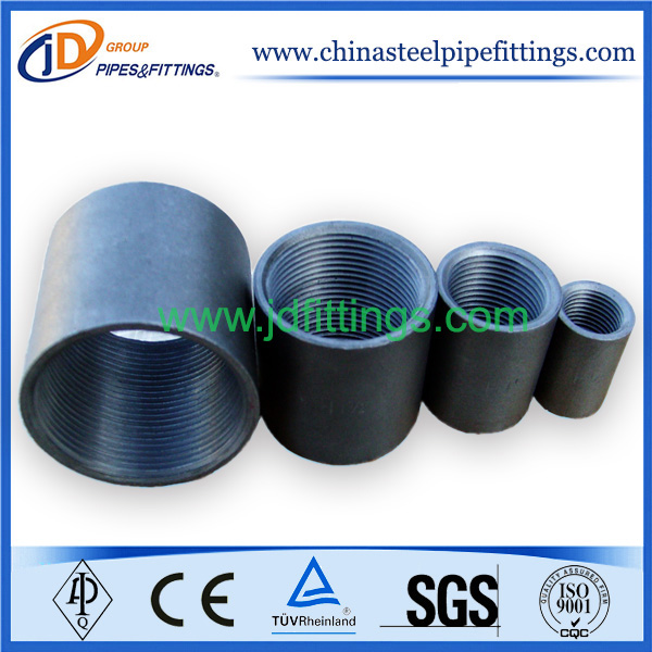 Steel Pipe Couplers : Standard merchant steel couplings pipe fittings china
