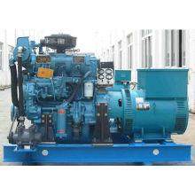 Generador marino de 100kw con motor Weichai y aprobación BV