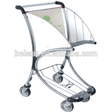 Baggage carts airport large suitcases small luggage cart