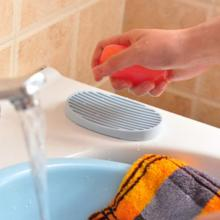 Eco-friendly Untuk Home Hotel Silicone Soap Holder Dish