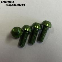 Green M3 Auminum Screws Post