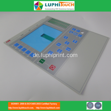 LED Hintergrundbeleuchtung PET Circuit Equipment Folientastatur