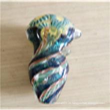 Conwenient Design colher colorida preço barato para fumar (ES-HP-148)