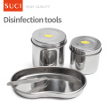 Stainless Steel Tattoo Disinfectant Tools/ Disinfection Container