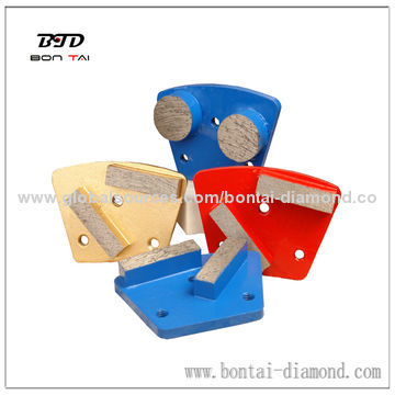 Trapezoid Grinding Plates for Grinding Concrete/Terrazzo