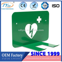 Hsinda-Cabinet stellt AED Defibrillatorhalter für Defibtech Defibrillator her