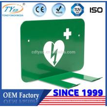 Hsinda-Cabinet manufacture AED defibrillator bracket for Defibtech Defibrillator