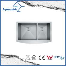 Bacia clássica de cozinha de aço inoxidável (AS3321)