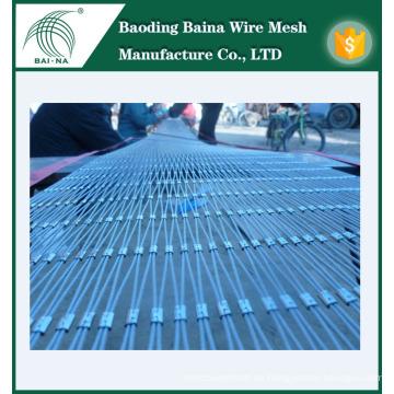 Red de malla de alambre de acero inoxidable resistente fabricada en China