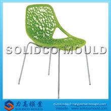 OEM taizhou nouveaux modèles maille chaise sans bras fabricant de moules