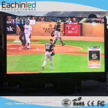 Mur visuel fixe polychrome d'écran d'affichage à LED de HD P6 LED avec HDMI Por