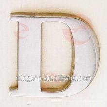 Letra D para el bolso de accesorios de decoración de moda (N33-1003A)