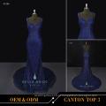 Vestidos longos e bonitos desenhos vestidos de noite roupas de noite vestidos longos de azul royal para banquete de casamento