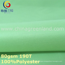 190 T Polyester Taffeta Plain Fabric for T-Shirt (GLLML301)