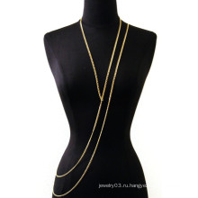 2015 новый дизайн тела цепочки ювелирных изделий бесконечность телесных цепей