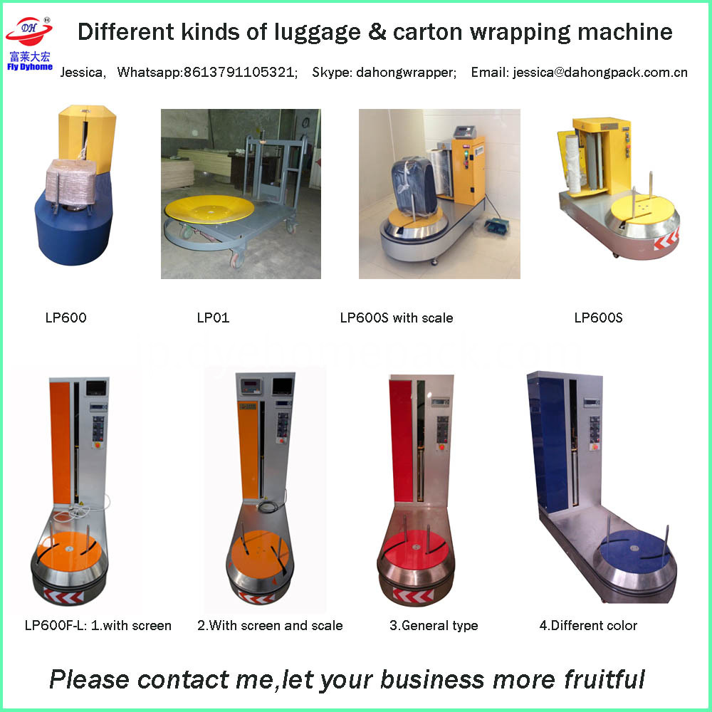 Luggage Wrapping Machine