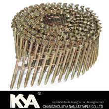 Galvanized Pozi Head Wire Collated Screw for Roofing, Packaging, Construction