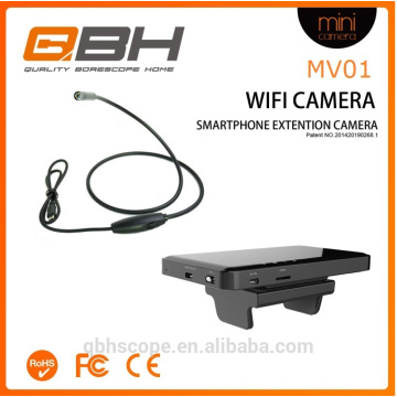 2016 wi-fi móvel smartphone extensão USB endoscópio câmera