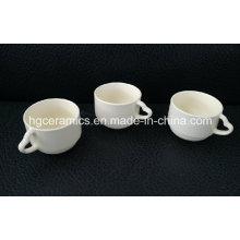 Herz-Handgriff-Kaffeetasse, rote Kaffeetasse-Kaffeetasse