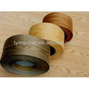 China arce chapa de madera borde de la banda