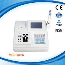 Semi-Auto-Koagulations-Analysator Doppelkanal-Koagulationsmaschine-MSLBA26W