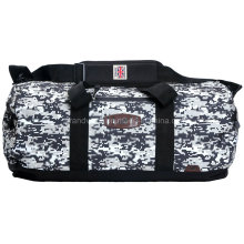 Huge Camouflage Duffel Bag with Custom Rubber Logo