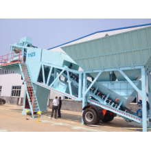 YHZS90 Mobile Concrete Batching Plants for sale 90m3/h