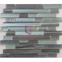Silver Color with Grey DOT Crystal Mosaic (CFS612)