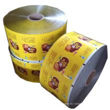 Rollo de comida Película / Empaquetado de alimentos Película / Snacks Empaquetado Fim