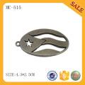 MC515 Zinklegierung benutzerdefinierte Metall Hang Tag Design