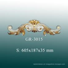 Europeu estilo teto acessórios decorativos, decoração de poliuretano para Home Decor