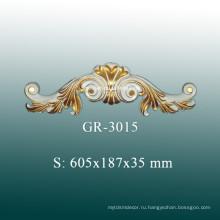 Декоративные аксессуары для потолка европейского стиля, Украшение из полиуретана для домашнего декора