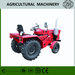 4x4 Compact Farm Tractor with Loader and Backhoe