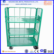 High Capacity Powder Coated Steel Roll Container Made in China