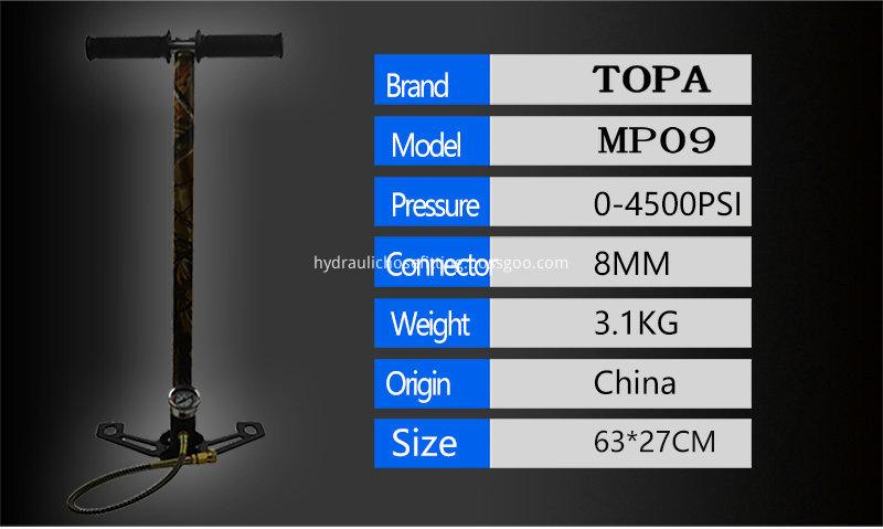 best pcp hand pump