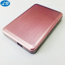 Aluminium anodized charging shell
