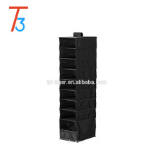 Modern hanging organizer with 9 compartments